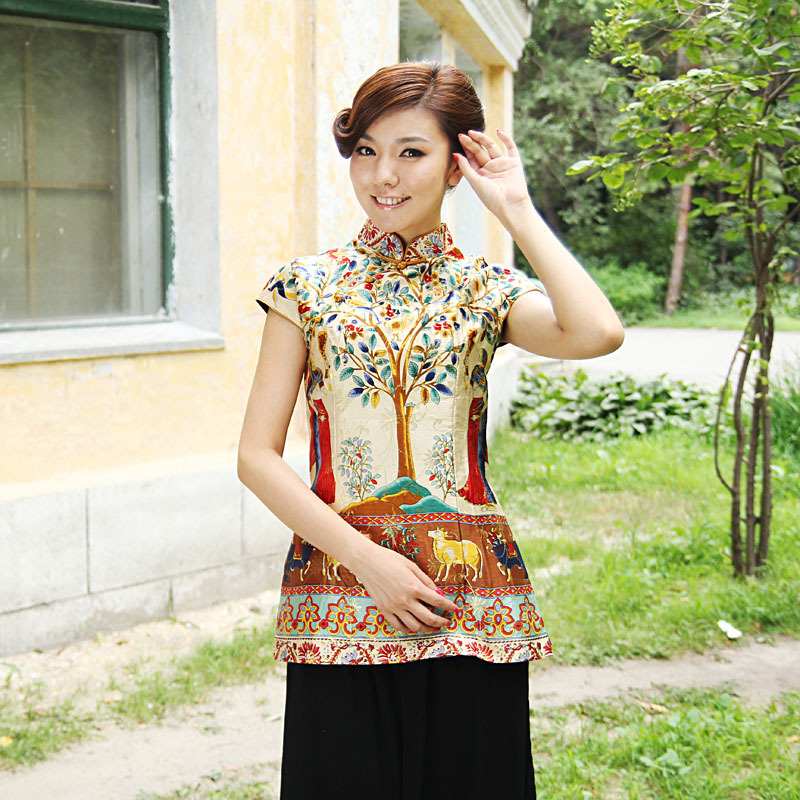 Splendid Linden Tree Cap Sleeve Blouse