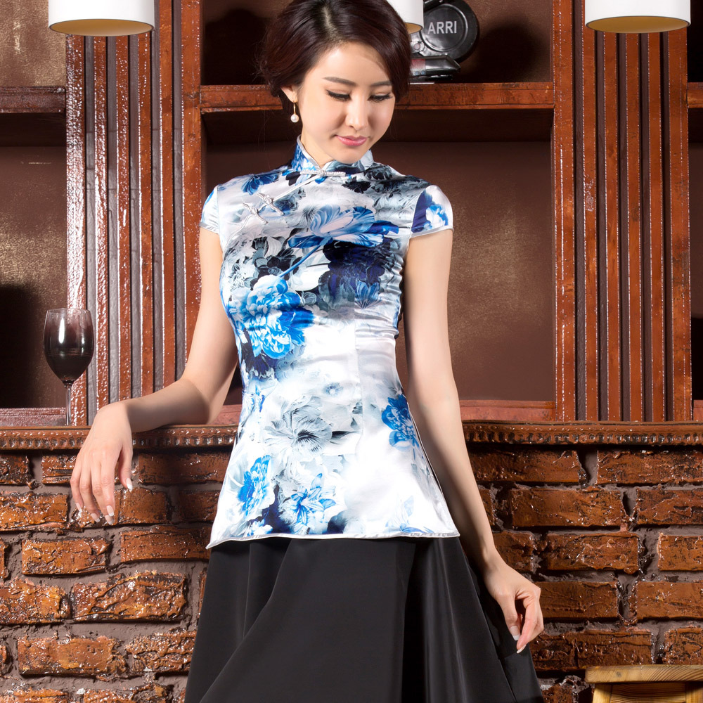 Chinese Silk Blouses