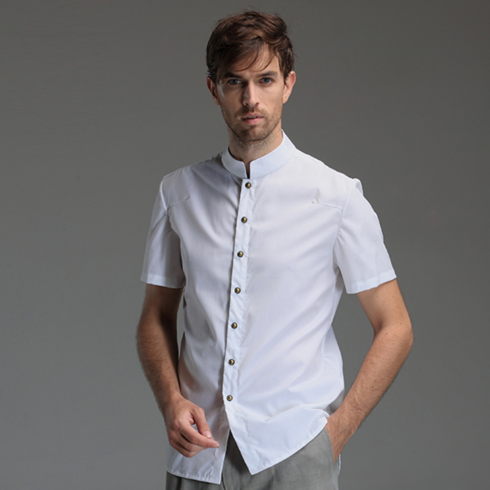 Men /en-intl/men/shirt Shirts; Mandarin Collar Shirts. View Options. Sort By. Search Filters. Size Clear. Price Range Mayfair Striped Mandarin Collar Shirt. New Arrival. SMART SHOP. Please choose your size. Add to cart. Mandarin Collar Shirt. SMART SHOP. Please choose your size. Add to cart. Mandarin Collar Shirt.
